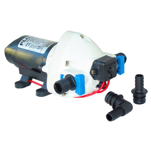 Flojet R3426-500A serie triplex autoclave pump bomba marine