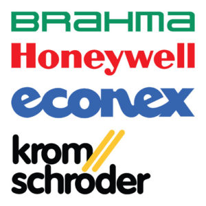 Componenti per sistemi di combustione a gas combustion system Brahma Honeywell Econex Kromschröder